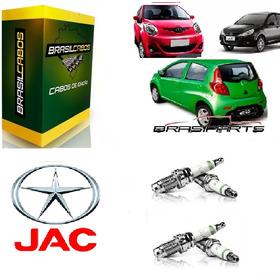 Jogo De Velas Ignição Jac Motors J2 , J3 J5 Auto Perfomance.