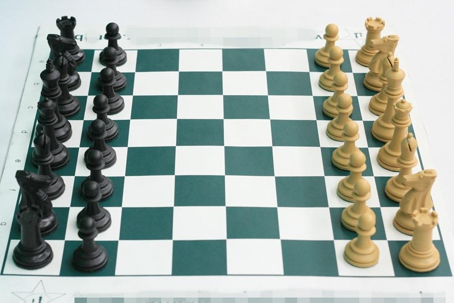 b9849ece7e8 Jogo de xadrez completo peças staunton tabuleiro de courvin carregando zoom  jpg 900x600 Jogo de tabuleiro