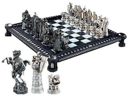 jogo de xadrez harry potter 32pçs sem tabuleiro
