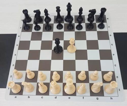 jogo de xadrez stauton c/ tabuleiro soft mouse pad 2 un