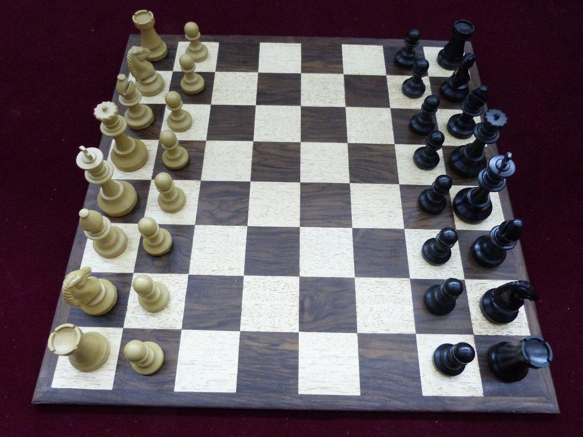 060da0394e7 Jogo de xadrez super conjunto tabuleiro peças relógio carregando zoom jpg  1200x900 Jogo xadrez tabuleiro