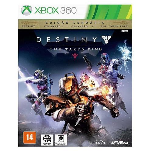 jogo destiny: the taken king - edição lendaria - xbox 360