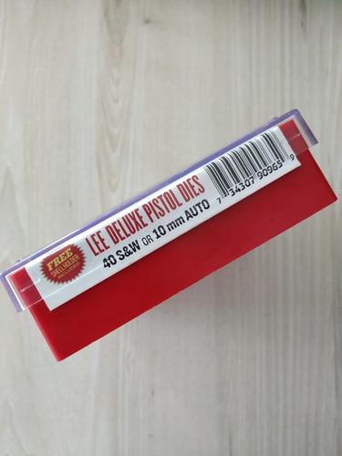 jogo dies de luxe lee .40s&w original, na caixa,com garantia