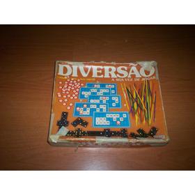Jogo Diversão Coletânea De Jogos Incompleto Na Caixa Antigo