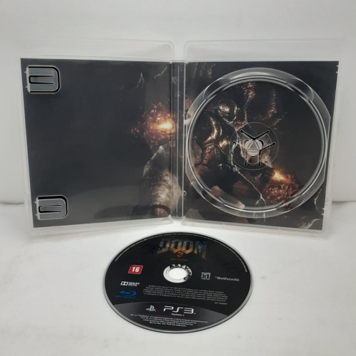jogo doom 3 playstation 3 mídia física original
