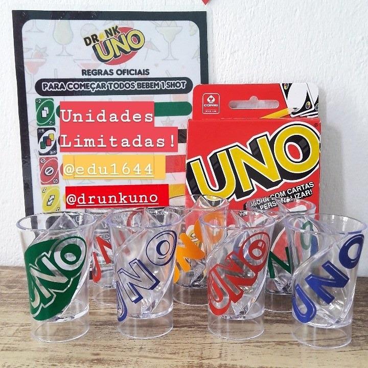 Jogo Drunk Uno Jogo De Bebida Uno Drink Uno Shot R 99 90