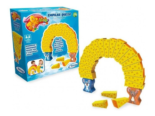 jogo  empilha queijo - 02954 xalingo