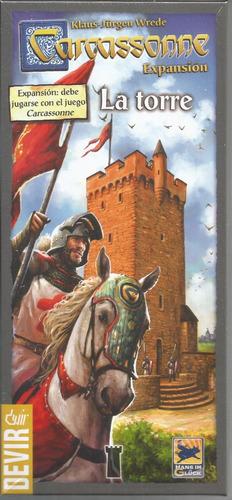 jogo expansao carcassonne a torre - devir - bonellihq l18