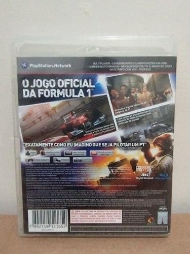 jogo f1 2010 mídia física ps3