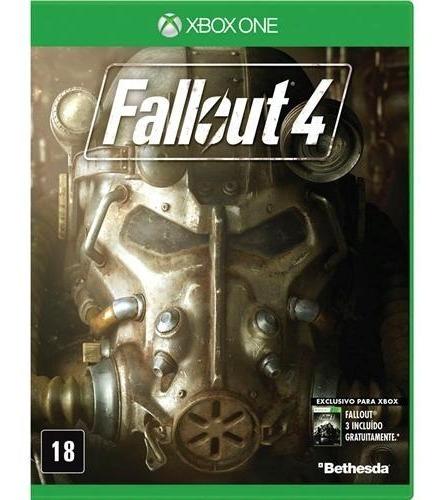 jogo fallout 4 - xbox one mídia física usado