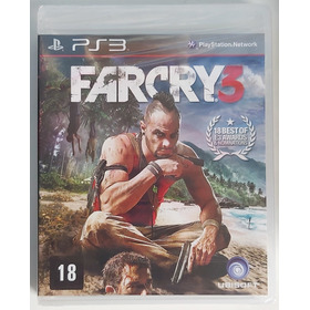 Jogo Far Cry 3 - Ps3 - Mídia Física - Usado