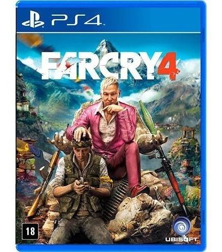 jogo far cry 4 playstation 4 ps4 mídia física