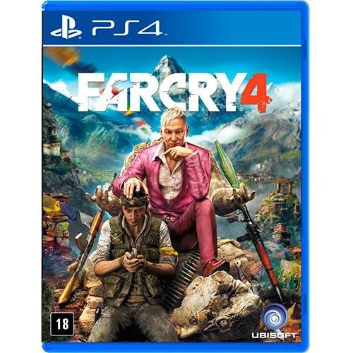 jogo far cry 4 playstation 4 ps4 mídia física