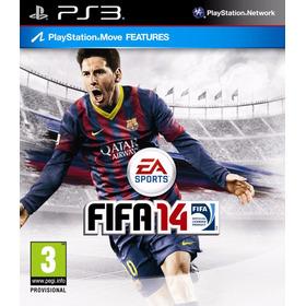 Jogo Fifa 14 2014 Ps3 Playstation 3 Futebol Ea Mídia Física