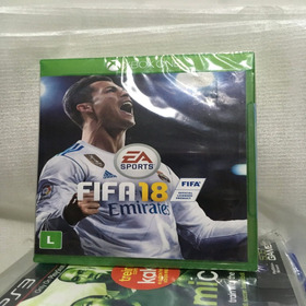 Jogo Fifa 18 - Xbox One Midia Fisica