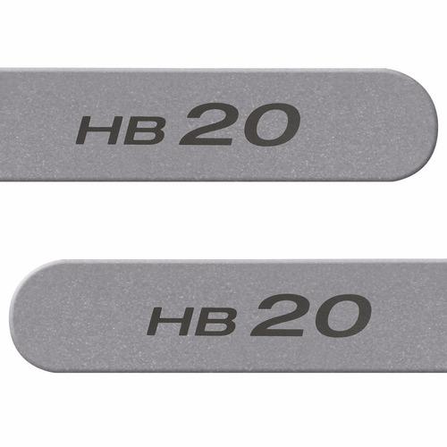 jogo friso lateral hb20 2013 2014 2015 - 13 14 15 4 peças