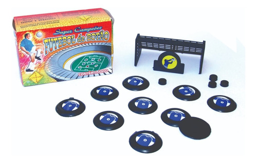 jogo futebol botão com 1 time