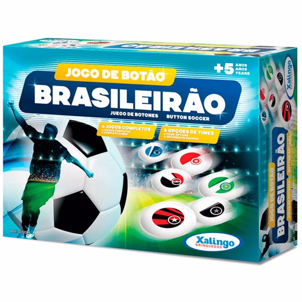 Jogo Futebol De Botão Brasileirão Oficial Xalingo - R  35 897afe0fb3c47