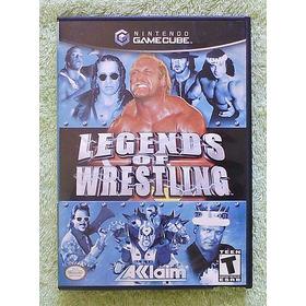 Jogo Game Cube - Legends Of Wrestling *