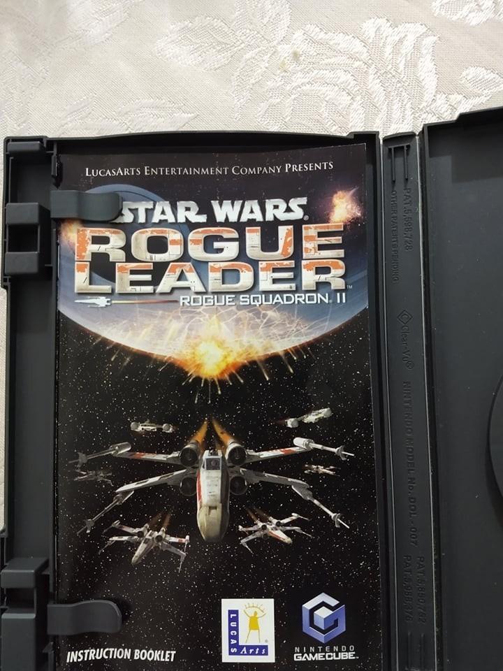 Jogo Game Cube Rogue Squadron Rogue Leader