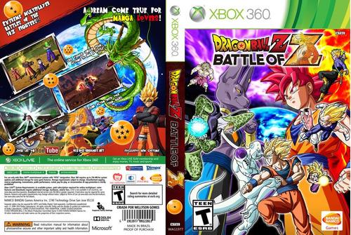 jogo game dragon ball battle xbox 360