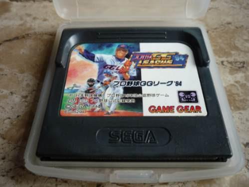 jogo gg league baseball  - gamegear