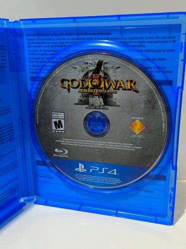 jogo god of war 3 remastezado ps4  mídia física usado