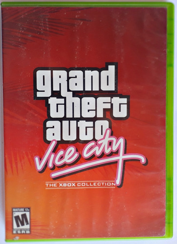 jogo grand theft auto gta vice city xbox classico game mídia