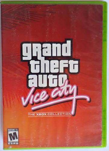 jogo grand theft auto gta vice city xbox classico mídia físi