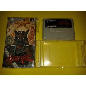 Jogo Hagane Original Com  Caixa Super Nintendo Snes Raro