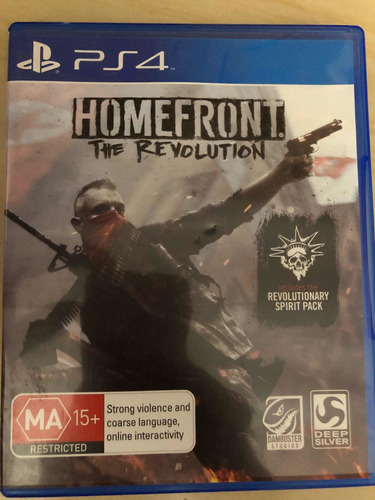 jogo homefront the revolution ps4