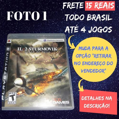 jogo il-2 sturmovik birds of prey ps3 frete 15 reais