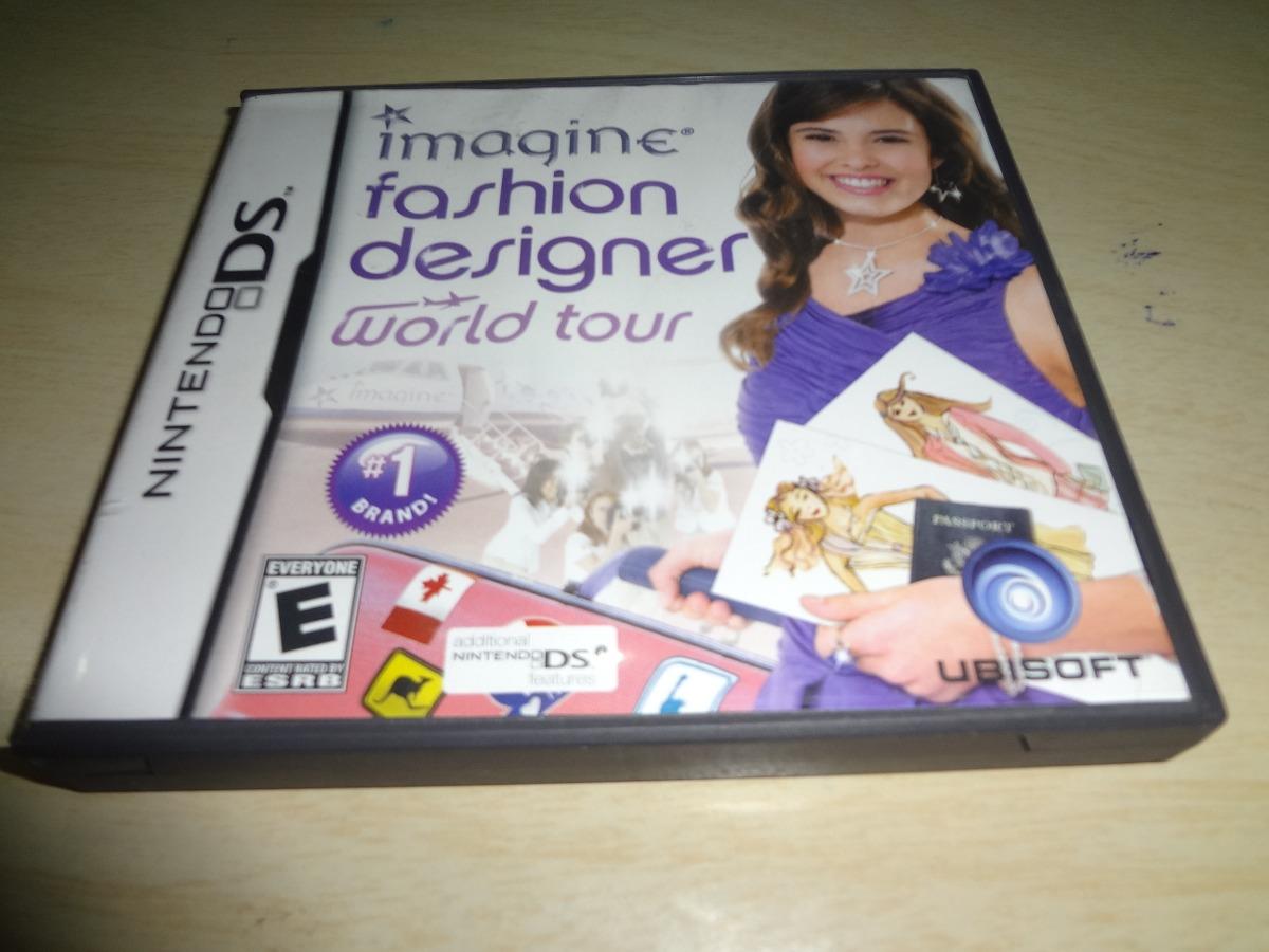 Jogo Imagine Fashion Designer World Tour Nintendo Ds R 59 00 Em Mercado Livre