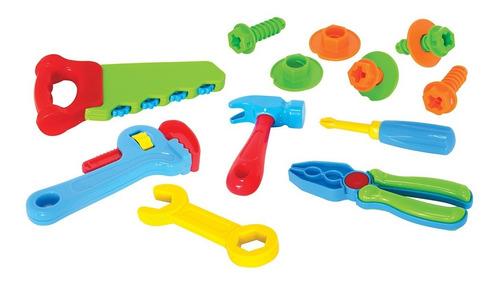 jogo infantil ferramentas martelinho parafuso serrote 2015