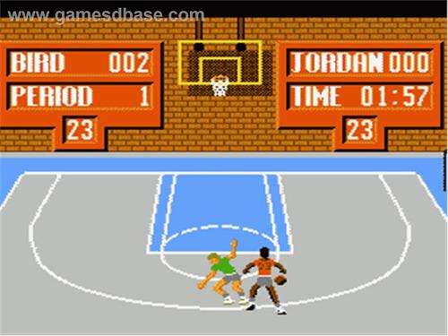 jogo jordan vs bird one on one original nintendinho
