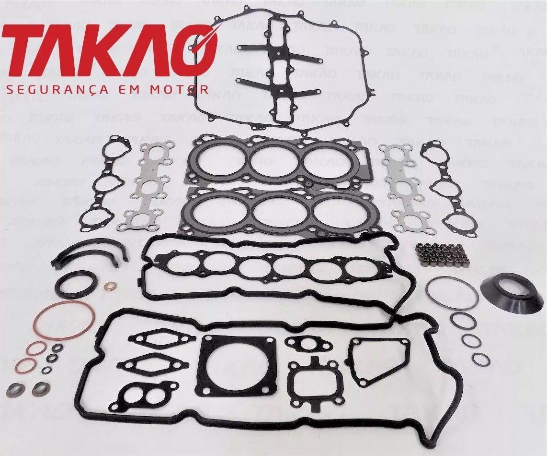 Coronelautopecas Jogo Juntas Motor Nissan 350z 3 5 V6 24v 03 06 Vq35de Aco R 2 057 00