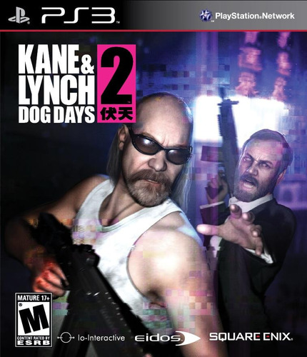 jogo kane & lynch 2 dog days - ps3 - seminovo