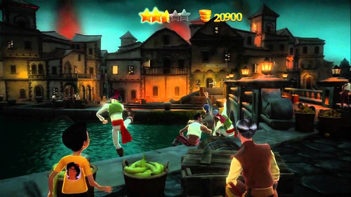 Jogo Kinect Disneyland Adventures Xbox 360 Original Completo