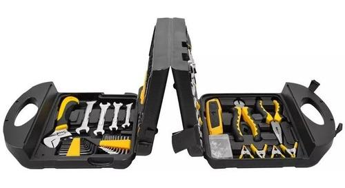 jogo kit de ferramentas maleta caixa completa 117pçs eda 8sh