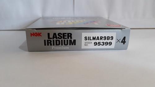 jogo kit vela ngk laser iridium kawasaki zx10 2017 silmar9b9
