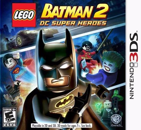 jogo lego batman 2 dc super heroes 3ds