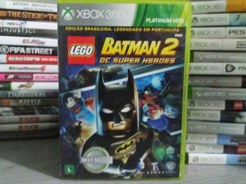 jogo lego batman 2 xbox 360 original para crianças...