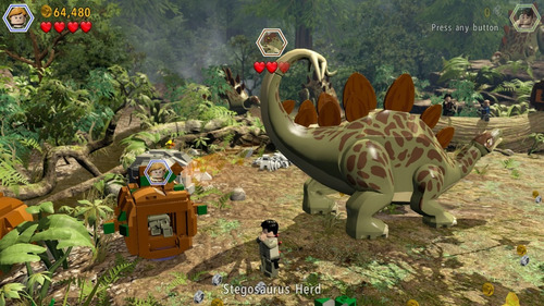 jogo lego jurassic world midia fisica original lacrado ps4