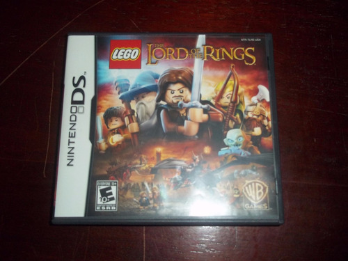 jogo lego lord of the rings - nintendo ds