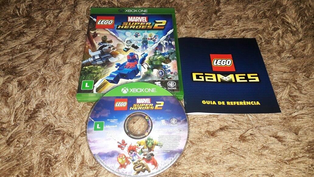 Jogo Lego Marvel Super Heroes 2 Xbox One Midia Fisica R 144 99