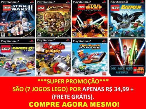 jogo lego star wars ii 2 ps2 (kit 7 jogos playstation 2)