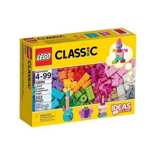 jogo lego suplemento criativo e colorido