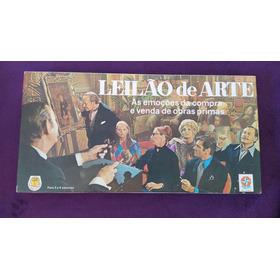 Jogo Leilão De Arte - Estrela - Anos 70