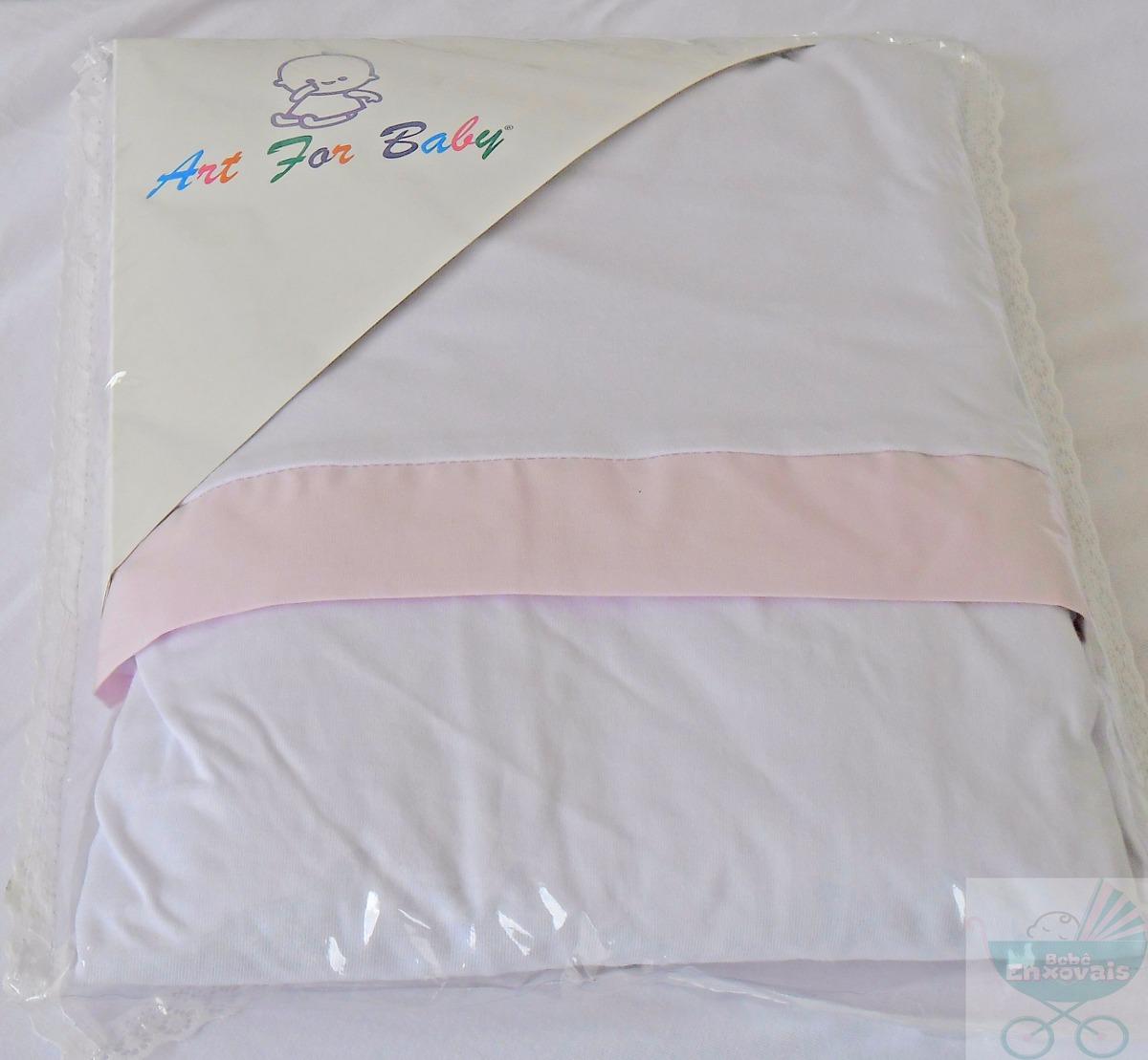 87c4dc59e8 jogo lençol c  elástico mini cama 2 pçs branco rosa. Carregando zoom.
