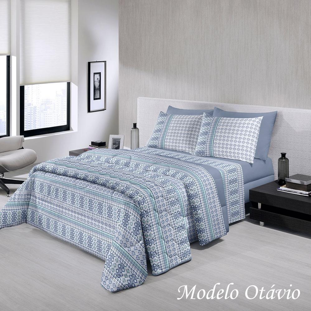 7adfa5fdc4 jogo lençol cama casal santista royal plus 4 pç 100% algodão. Carregando  zoom.